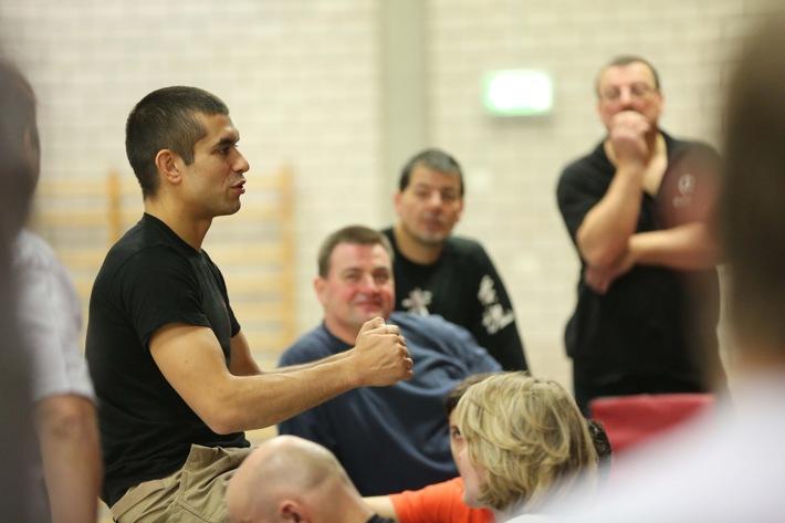 Weltmeister in Ju-Jutsu lehrt Sicherheit an nordhessischer Hochschule