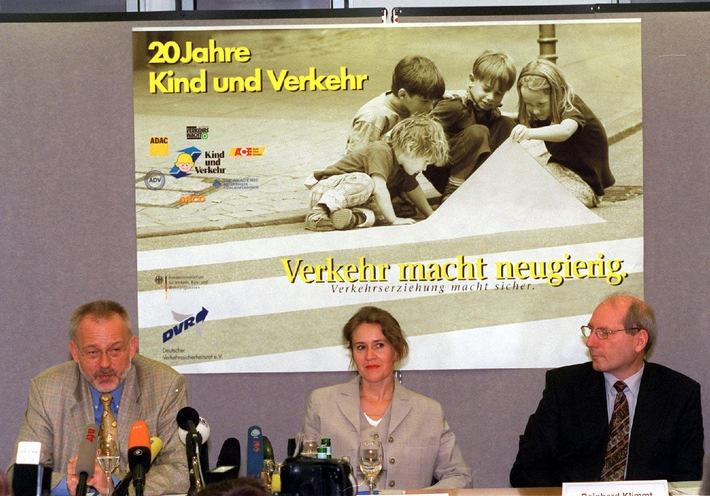 """Zwanzig Jahre DVR-Programm """"Kind und Verkehr"""" / Deutscher Verkehrssicherheitsrat zieht positive Bilanz"""