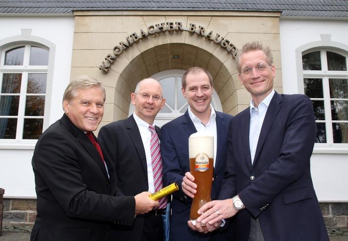 Krombacher Alkoholfrei - neuer Partner der Deutschen Olympiamannschaft