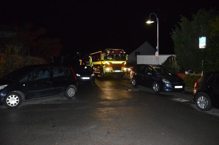 FW Ratingen: Falschparker behindern Feuerwehr