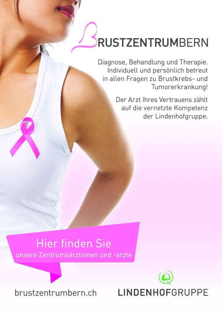 Das Brustzentrum Bern der Lindenhofgruppe setzt erneut sichtbare Zeichen