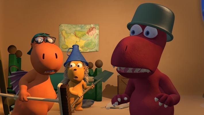 """Die Serie """"Der kleine Drache Kokosnuss"""" wird mit dem Kinder-Medien-Preis DER WEISSE ELEFANT als beste TV-Serie ausgezeichnet"""