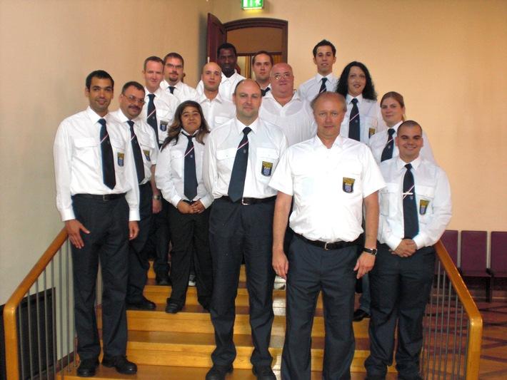 POL-F: 090709 - 866 - Indienststellung des 7. Ausbildungskontingentes des Freiwilligen Polizeidienstes