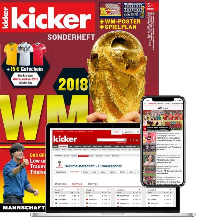 """WM-Feeling auf allen Kanälen / Weiterer Text über ots und www.presseportal.de/nr/15983 / Die Verwendung dieses Bildes ist für redaktionelle Zwecke honorarfrei. Veröffentlichung bitte unter Quellenangabe: """"obs/Olympia-Verlag GmbH"""""""