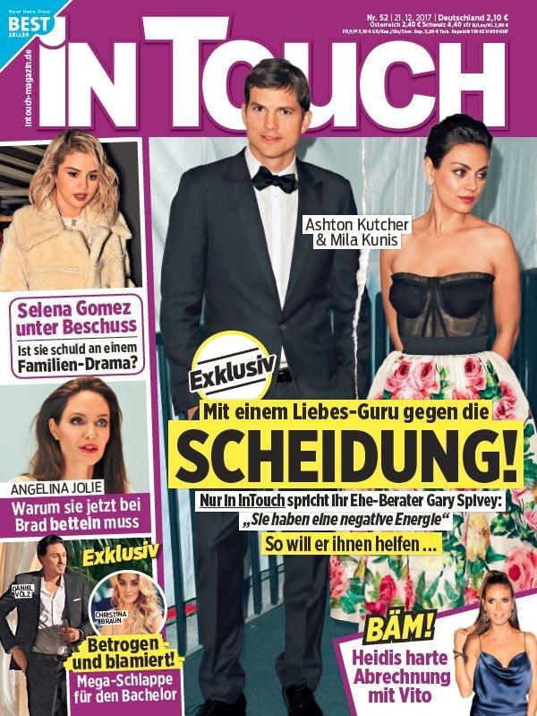 Exklusiv in InTouch: Wie ein Liebes-Guru die Ehe von Mila Kunis (34) und Ashton Kutcher (39) retten soll