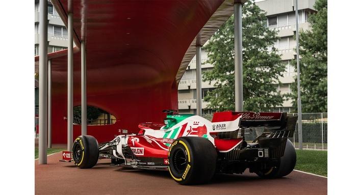 Alfa Romeo zeigt die italienischen Farben beim Großen Preis von Italien in Monza