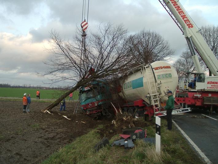 POL-HI: Verkehrsunfall mit 200.00.-EUR Schaden
