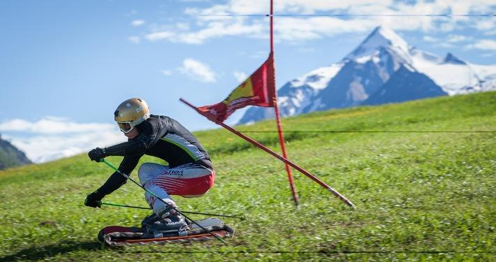 Internationaler Grasski Weltcup zu Gast in Kaprun   - BILD