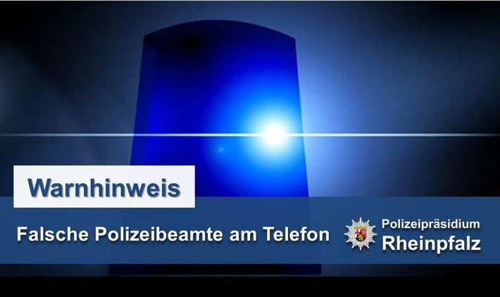 Anrufe falscher Polizeibeamter