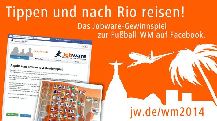 Tippen und mit Jobware nach Rio reisen / Stecke dir deinen WM-Planer, zeige uns die Sieger und gewinne attraktive Preise