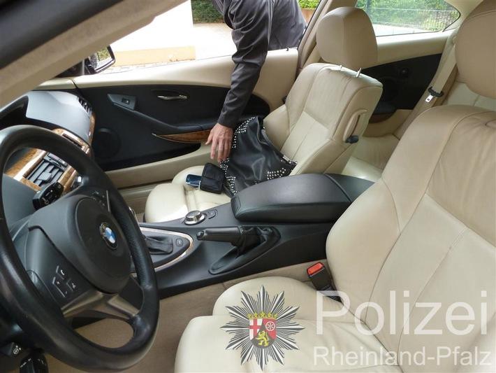POL-PPWP: Auto nicht verschlossen-Dieben zum Opfer gefallen