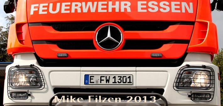 FW-E: Feuer in Frohnhausen -  Dank Rauchmelder nur eine leicht verletzte Person