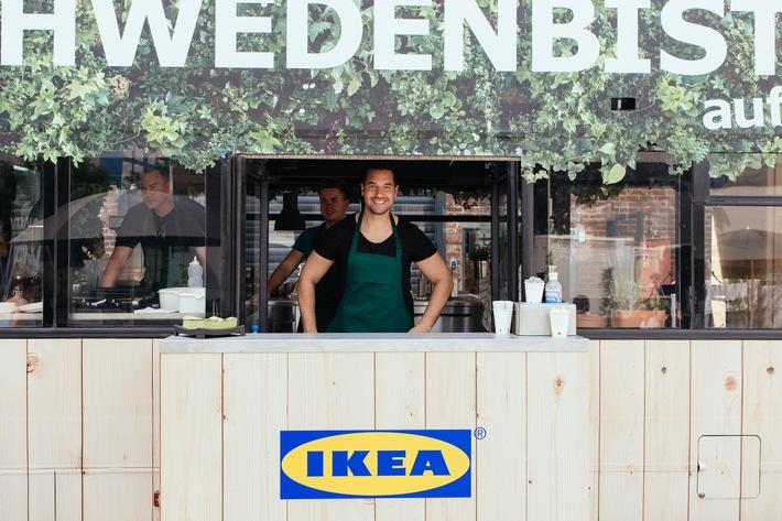 """IKEA Schwedenbistro auf Achse / IKEA schickt Food Truck Küche auf Deutschlandtour / Weiterer Text über ots und www.presseportal.de/nr/29291 / Die Verwendung dieses Bildes ist für redaktionelle Zwecke honorarfrei. Veröffentlichung bitte unter Quellenangabe: """"obs/IKEA Deutschland GmbH & Co. KG/Inter IKEA Systems B.V. 2016"""""""