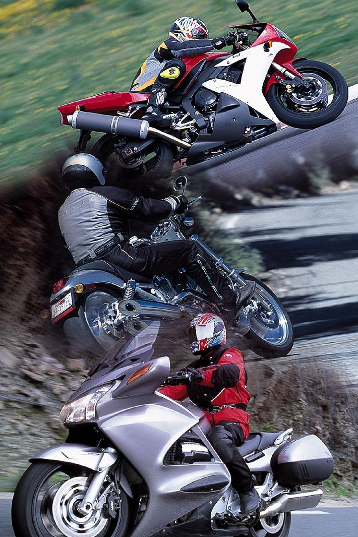 KAUFTIPP: Die Suche nach dem passenden Motorrad - Tourer, Sportler oder Gleiter?