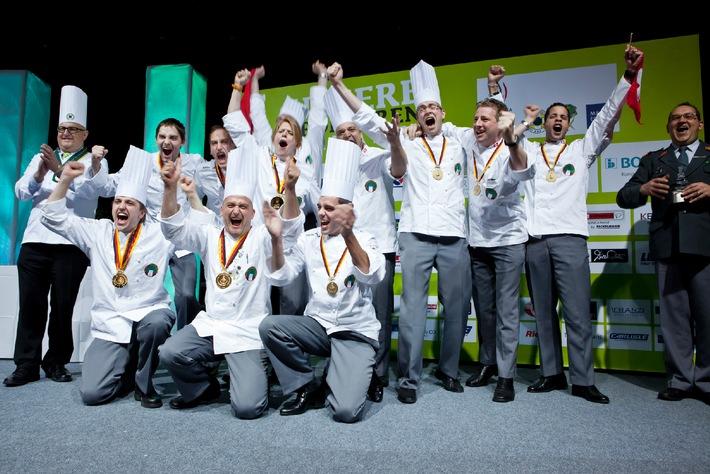Armee-Kochteam verteidigt den Olympiasieg - Junioren sind 3.