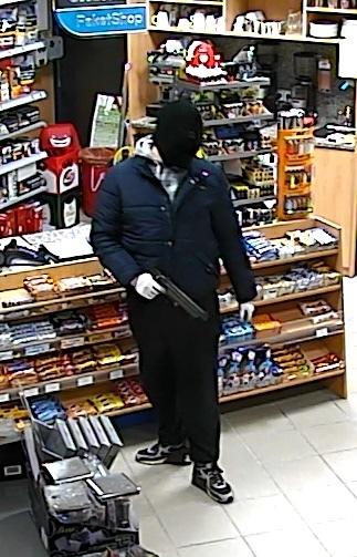 Täterbild Überwachungskamera