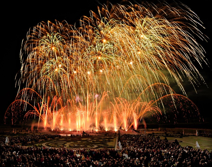 Schweden gewinnt den 20. Internationalen Feuerwerkswettbewerb in Hannover (mit Bild)