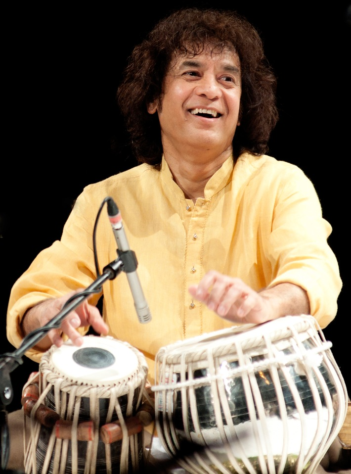 Indischer Superstar: Tabla-Virtuose Zakir Hussain
