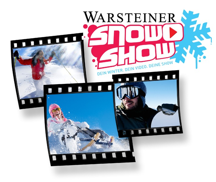 """""""Dein Winter. Dein Video. Deine Show."""" / WARSTEINER und ProSieben suchen das skurrilste Winter-Video / Der Video-Contest startet am kommenden Wochenende in Ischgl"""