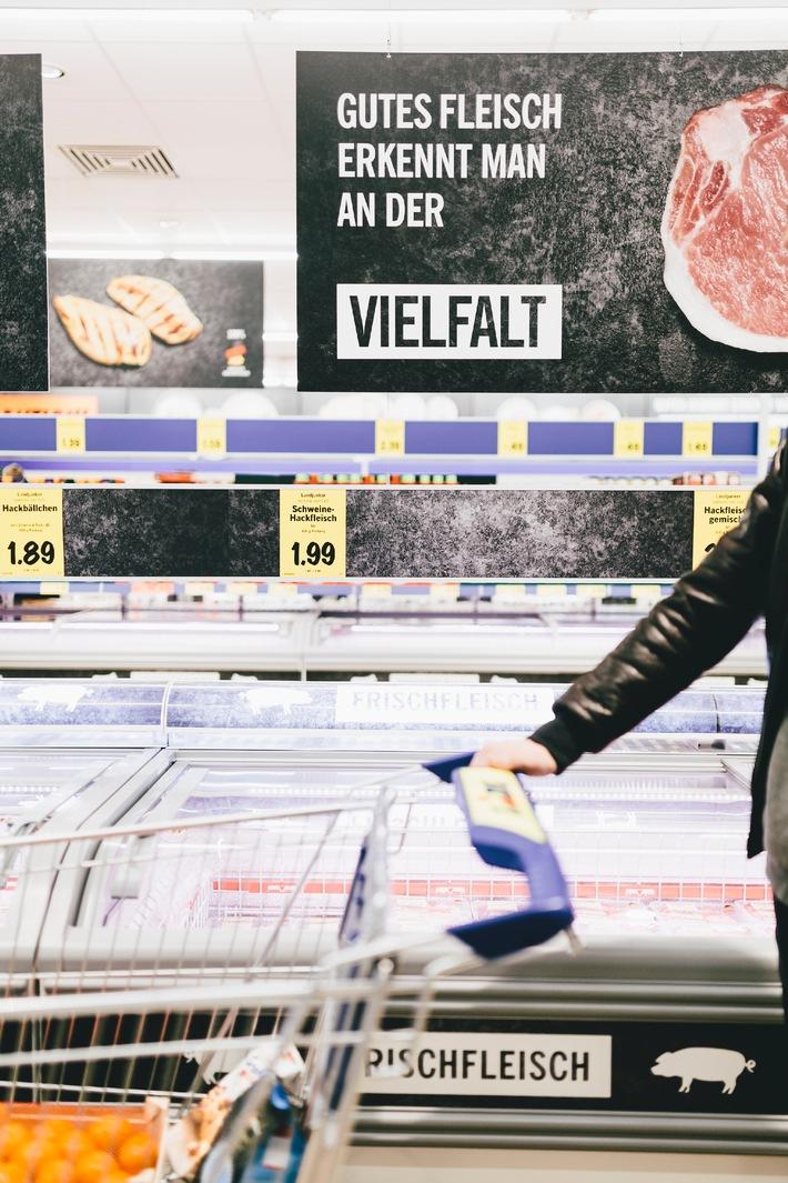 """Lidl lohnt sich. Bei Lidl ist gute Qualität Programm / Der Lebensmitteleinzelhändler rückt sein Qualitätsversprechen in den Mittelpunkt der Kommunikation. Weiterer Text über OTS und www.presseportal.de/pm/58227 / Die Verwendung dieses Bildes ist für redaktionelle Zwecke honorarfrei. Veröffentlichung bitte unter Quellenangabe: """"obs/LIDL/Andreas Chudowski"""""""