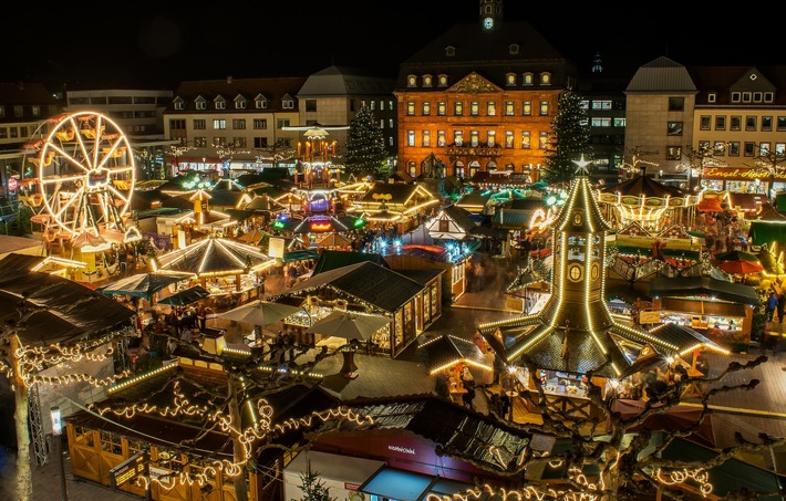 Hanau Weihnachtsmarkt (c) Hanau Marketing GmbH