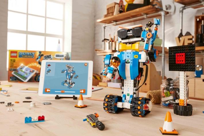 Mit LEGO BOOST lernen Kinder intuitiv Programmieren