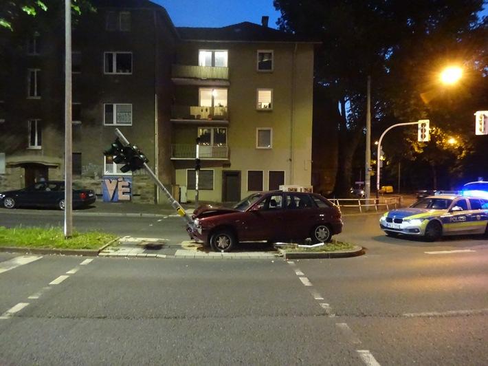 Unfall auf dem Ostring in Bochum