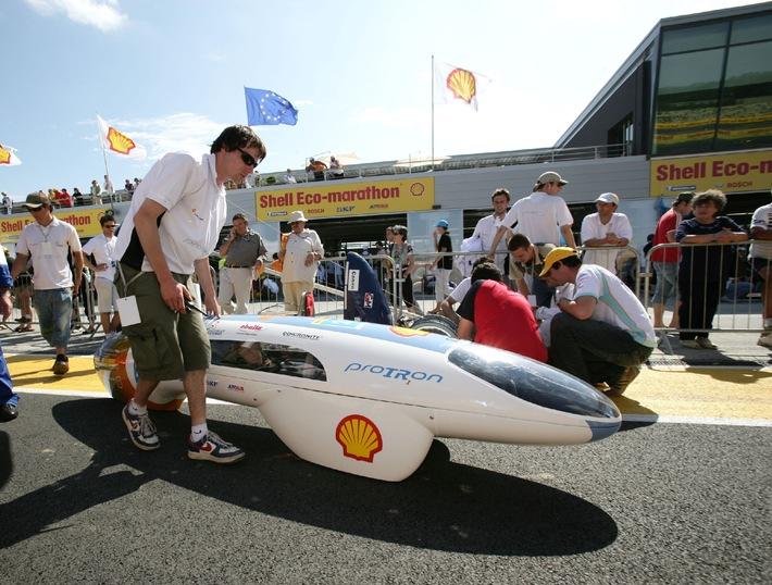 23. Shell Eco-marathon - Kleiner Verbrauch, grosser Triumph
