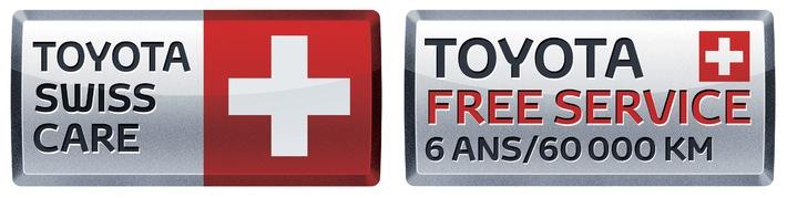 Toyota baisse ses prix catalogue en Suisse et lance le nouveau programme de prestations Toyota Swiss Care
