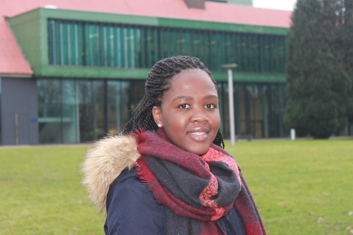 DAAD prize-winner Nickolet Ncube: achieving something on one's own