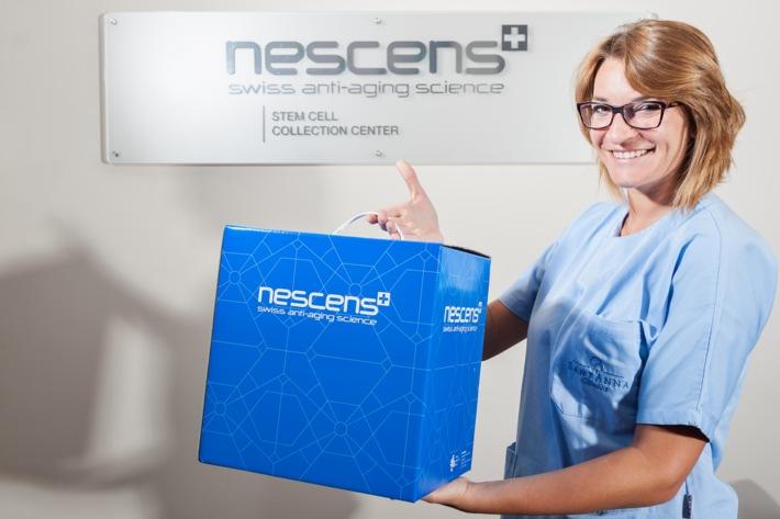 Nescens: Zusammenarbeit mit der Swiss Stem Cell Bank