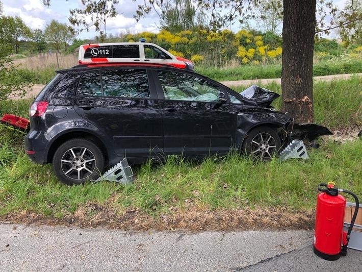 POL-WHV: 53-Jährige aus Sande bei Verkehrsunfall schwer verletzt