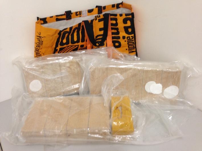 Beschlagnahmtes Heroin, Bild 1