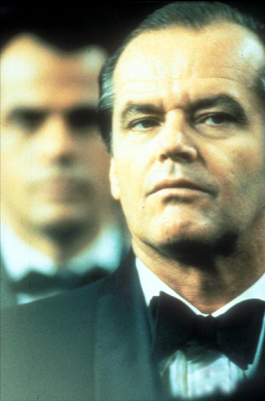 Charly Partanna (Jack Nicholson) auf der Hochzeit der Enkelin des Paten Don Corrado Prizzi