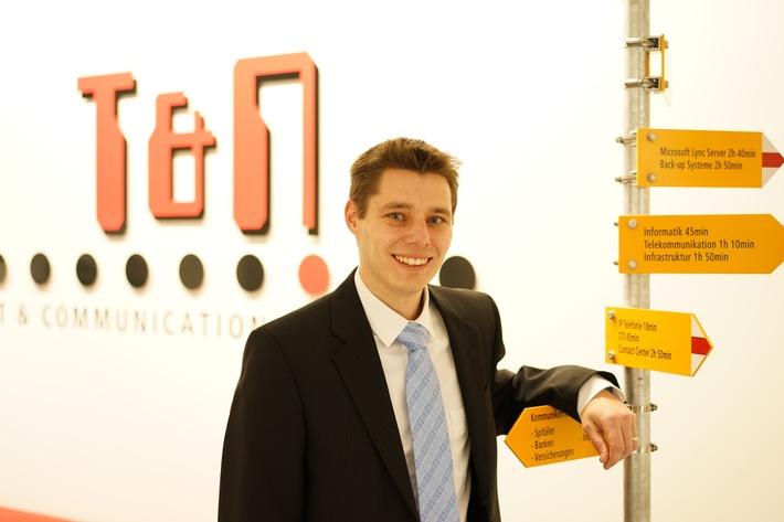 Neuer Standortleiter bei T&N Telekom & Netzwerk AG Olten