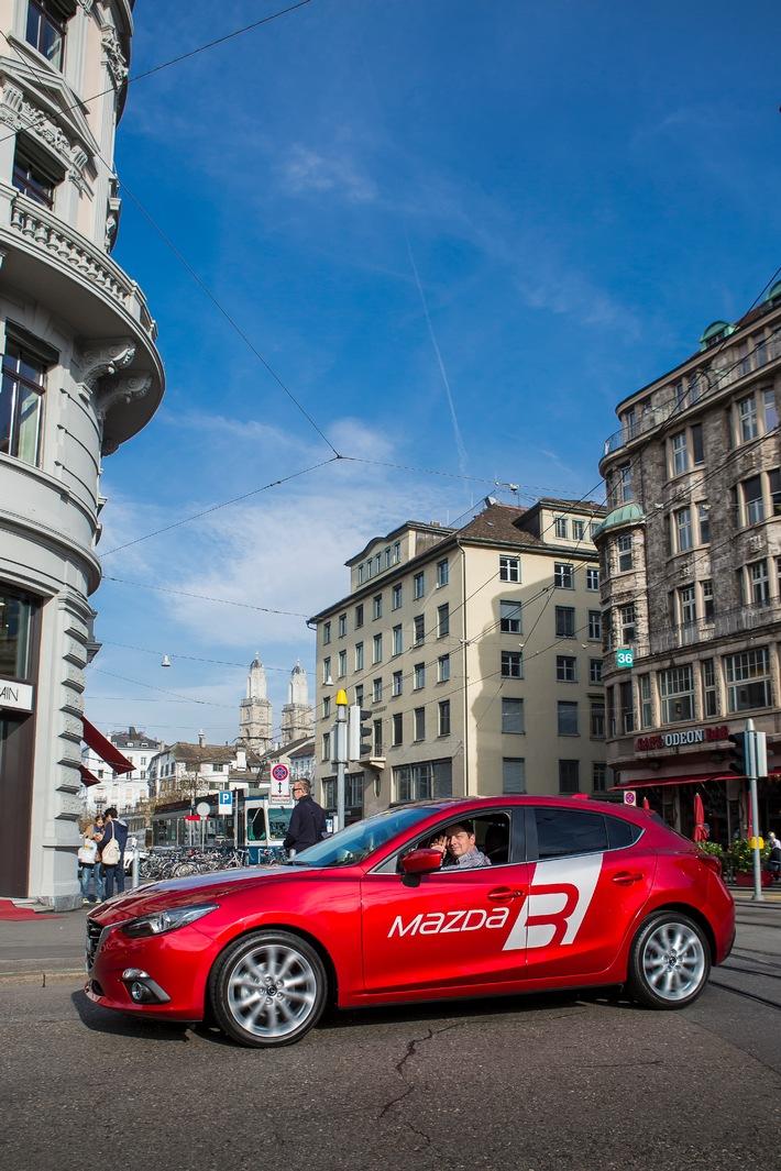 Der neue Mazda3 ist in der Schweiz angekommen (BILD)