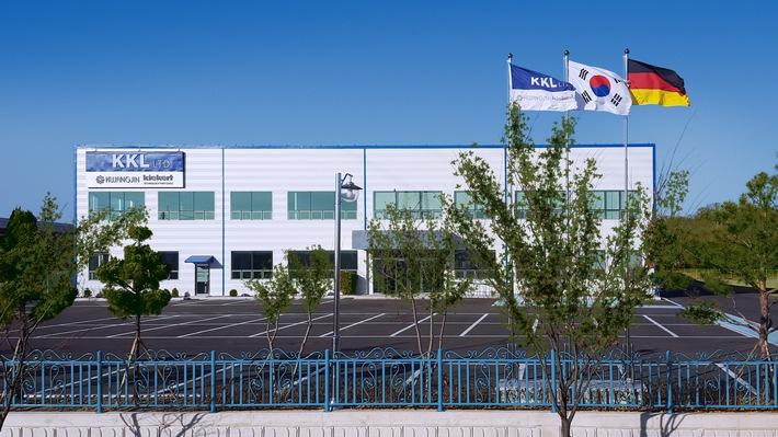 """Kiekert führt mit dem neuen Standort in Korea sein globales Wachstum fort / Weiterer Text über ots und www.presseportal.de/nr/19368 / Die Verwendung dieses Bildes ist für redaktionelle Zwecke honorarfrei. Veröffentlichung bitte unter Quellenangabe: """"obs/Kiekert AG"""""""
