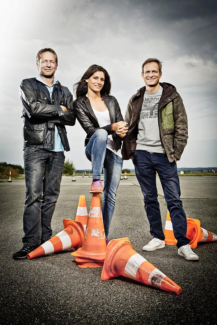 """""""GRIP - Das Motormagazin"""": Schrottchallenge mit Matthias Malmedie, Cyndie Allemann und Niki Schelle / Sendetermin: Sonntag, 11. Januar 2015, um 18:00 Uhr bei RTL II"""