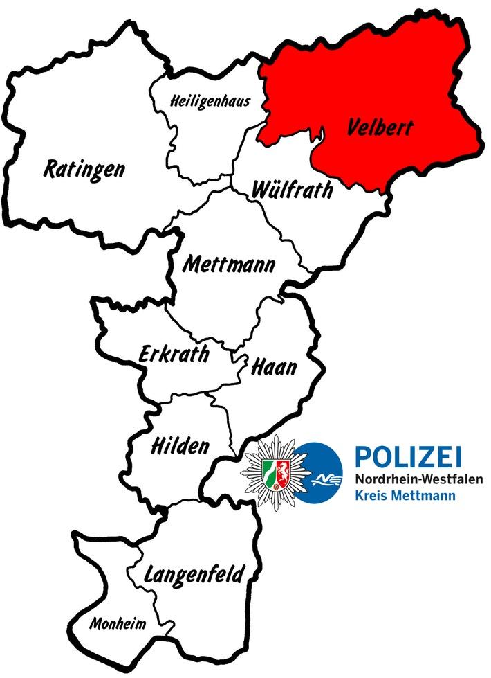 POL-ME: Verkehrsunfall mit einer leicht- und einer schwerverletzten Person - Velbert - 1709083