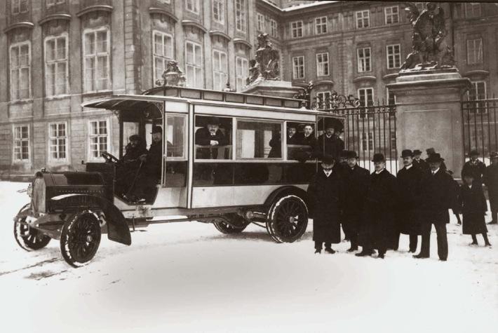 100 Jahre Omnibusverkehr in Tschechien: Die ersten Busse kamen aus Mlada Boleslav
