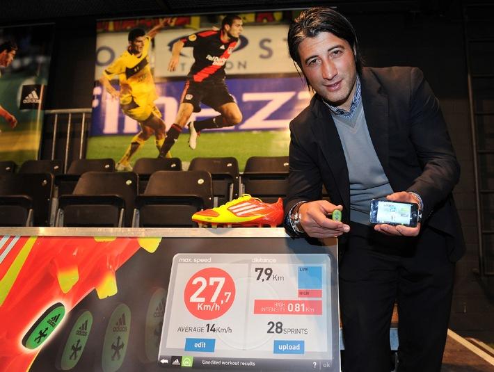 La scarpetta da calcio intelligente: Presentazione della nuova adizero f50 con tecnologia miCoach