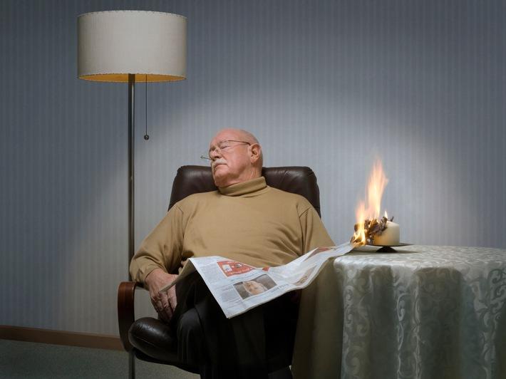 Weihnachtszeit ist Brandzeit - Senioren besonders gefährdet