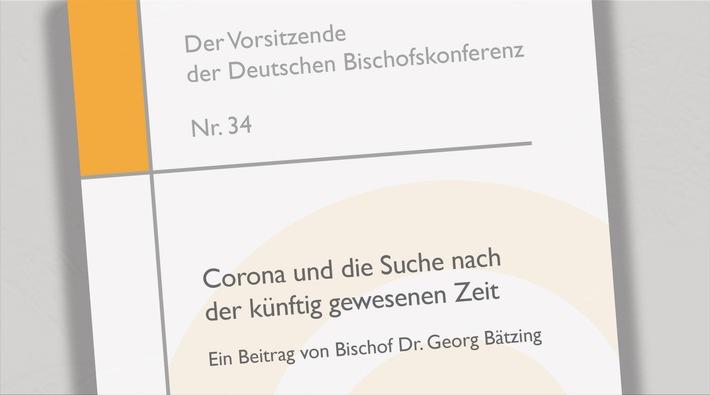 Bischof Bätzing veröffentlicht Reflexion zur Corona-Pandemie (FOTO)