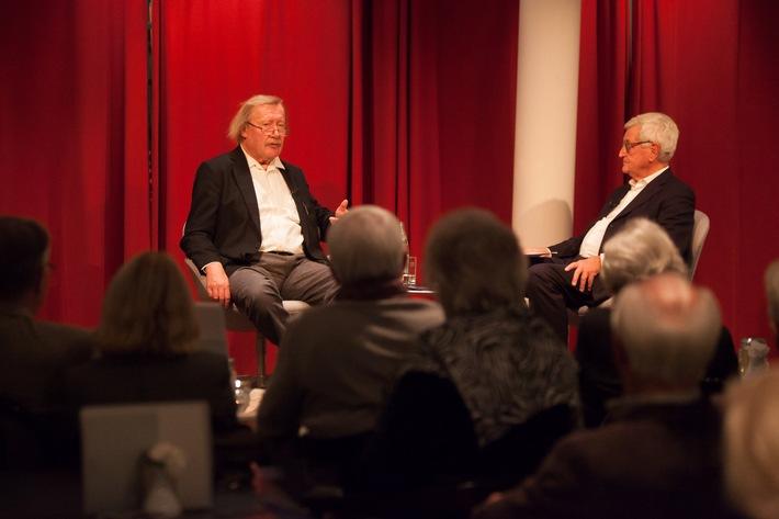 Peter Sloterdijk stellte das Jahresthema 2015 der Autostadt vor: Frieden