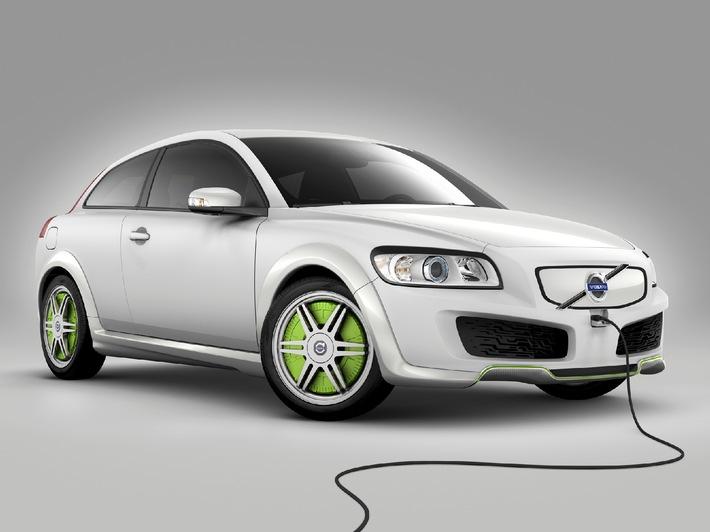 "Nouveau concept Volvo ReCharge: Le hybride ""plug-in"""