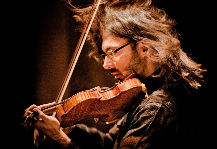 Le violoniste virtuose Leonidas Kavakos