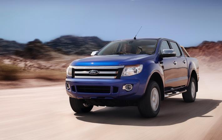 Jeder dritte neue Pick-up in Deutschland ein Ford Ranger: Ford Nutzfahrzeuge im ersten Halbjahr weiter auf Erfolgskurs