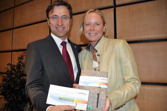 """Die neue Lobbying Veranstaltung """"theALPS"""" startet 2010 in Innsbruck - BILD"""