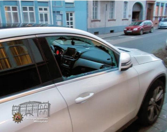 POL-PPWP: Nichts im Auto herumliegen lassen!