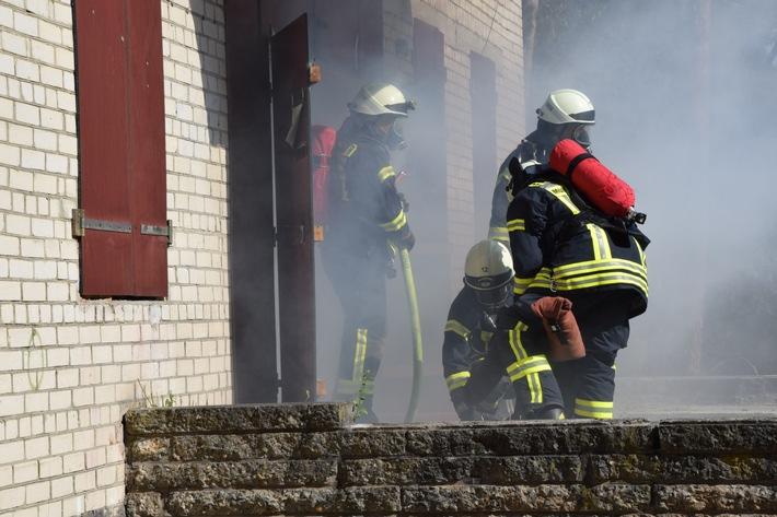 Menschenrettung und Brandbekämpfung